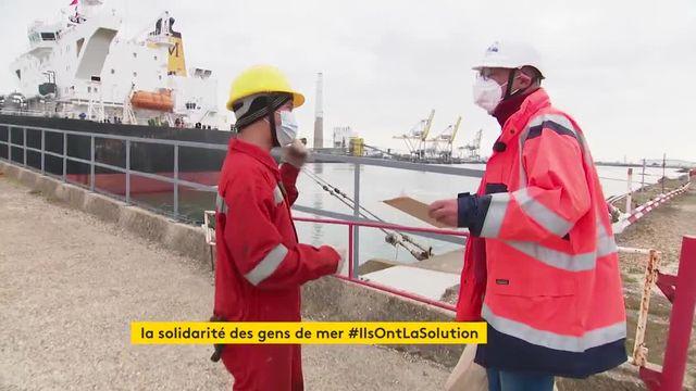 Au Havre, une association aide les marins bloqués sur leurs bateaux à cause de la pandémie
