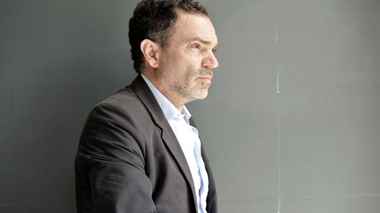 L'écrivain Yann Moix, en juin 2018 à Lille. (SARAH ALCALAY / SIPA)
