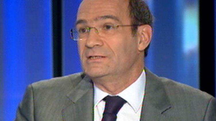Eric Woerth au 20h de France 2 (09/12/09)