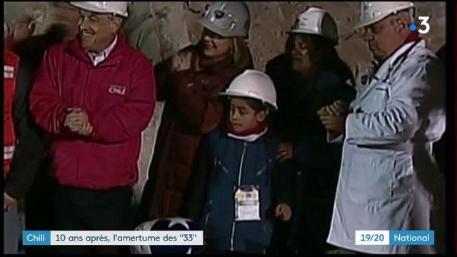 Chili : dix ans après, l'amertume des 33 mineurs chiliens, restés coincés sous terre 69 jours avant d'être secourus
