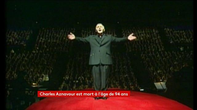Charles Aznavour, la mort d'un géant de la chanson française