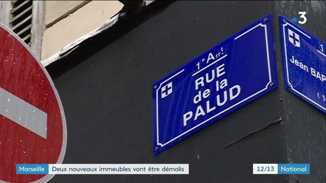 Marseille : deux nouveaux immeubles vont être démolis