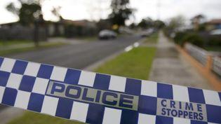 La police australienne a mené des perquisitions dans une maison du nord de Melbourne. (MICK TSIKAS / REUTERS)