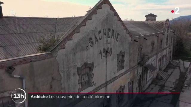 Ardèche : la cité Blanche, l'ancienne cité ouvrière devenue ville-fantôme