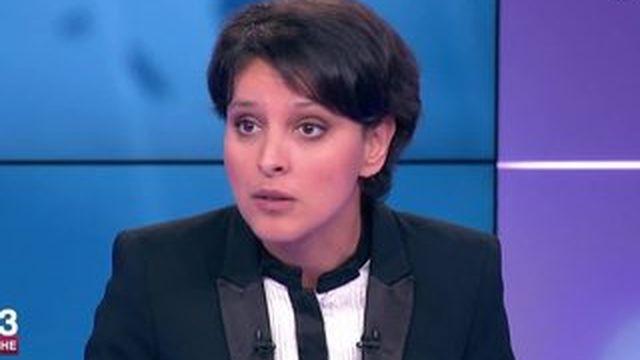 """Le Pen traite les Femen de """"harpies"""", """"on pourrait lui renvoyer le compliment"""", dit Vallaud-Belkacem"""