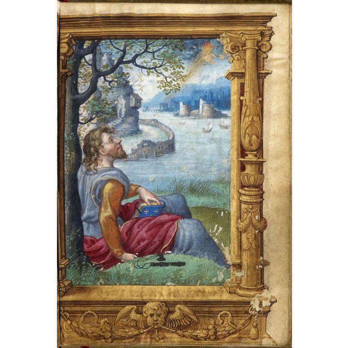 Une page du livre d'heures de François Ier, que le Louvre souhaite acquérir
