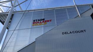 Le stade Bollaert-Delelis, principal stade de football de Lens, le 28 septembre 2019. (ROMAIN BERCHET / FRANCEINFO)