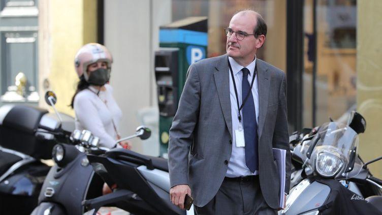 Jean Castex, à Paris, le 13 mai 2020. (LUDOVIC MARIN / AFP)