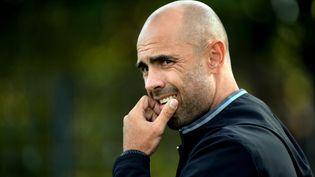 Cris, ancien défenseur international brésilien et entraîneur des U19 de l'Olympique Lyonnais. (PHILIPPE JUSTE / MAXPPP)
