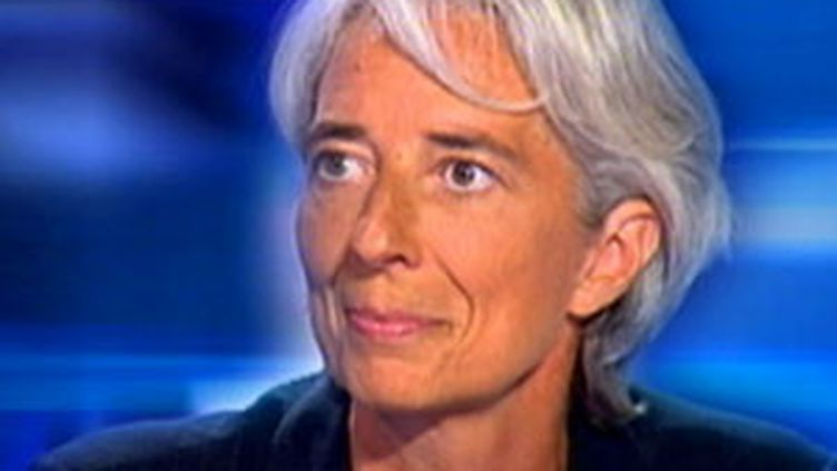 La ministre de l'Economie Christine Lagarde (F2)