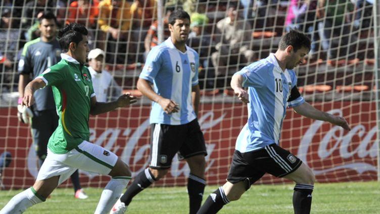 Leo Messi sous le maillot argentin