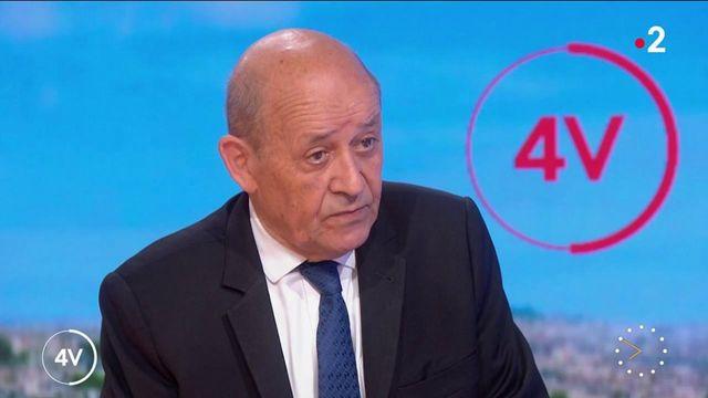 """Afghanistan """"Un coup très dur pour l'Occident"""", constate Jean-Yves Le Drian"""