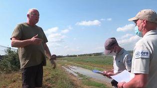 Sécheresse : ils traquent le gaspillage d'eau (France 3)