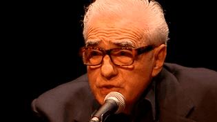 Martin Scorsese devant son public au théâtre des Célestins de Lyon.  (France 3)