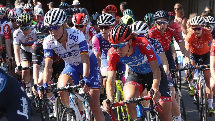 Le Tour de France féminin, le 19 juillet 2019 à Pau. (LAURENT LAIRYS / MAXPPP)