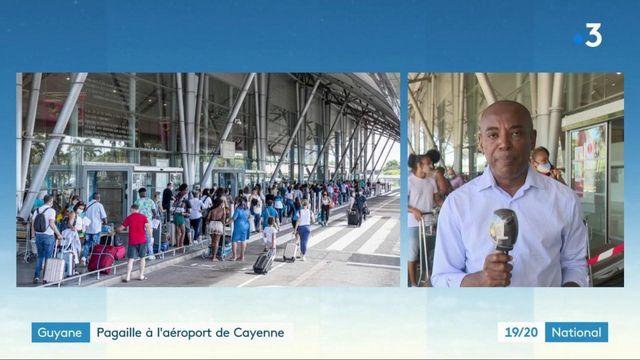 Guyane : pagaille à l'aéroport