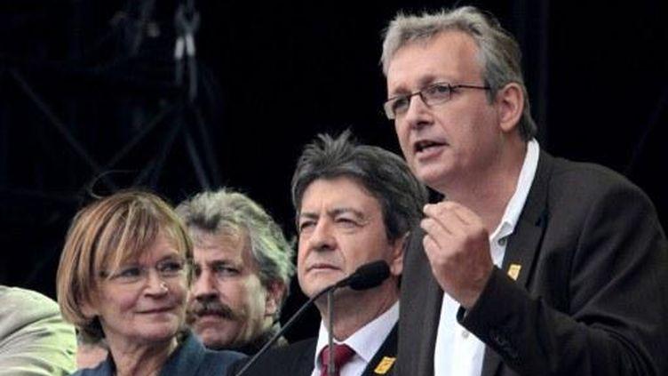 Pierre Laurent à la fête de l'Humanité édition 2011 (AFP)