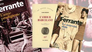 L'enquête sur la véritable identité de l'auteure Elena Ferrante, dont la tétralogie napolitaine est un succès de librairie, suscite une controverse. (GALLIMARD / FRANCEINFO)