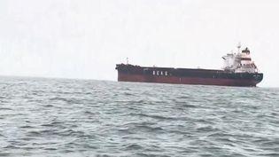 Le Royaume-Uni renforce ses contrôles en mer pour limiter l'arrivée massive de migrants en Angleterre. (CAPTURE D'ÉCRAN FRANCE 2)