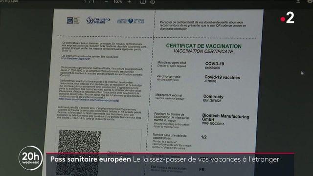 Pass sanitaire européen : comment l'utiliser pour les vacances ?