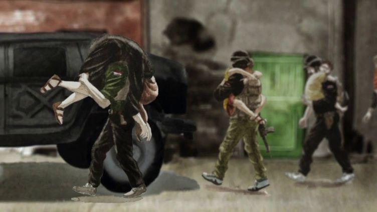 Envoyé spécial. Un officier irakien raconte la capture d'une jihadiste française (FRANCE 2 / FRANCETV INFO)