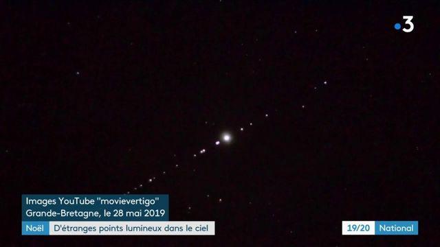 Noël : quelle était la guirlande de points lumineux apparue dans le ciel ?