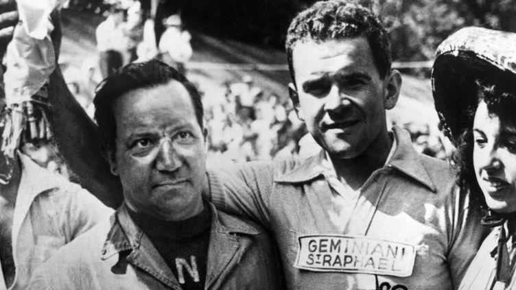 Roger Walkowiak était le plus ancien vainqueur du Tour de France encore vivant (AFP)