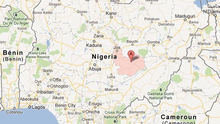 L'Etat du plateau, dans le centre du Nigeria. (GOOGLE MAPS)