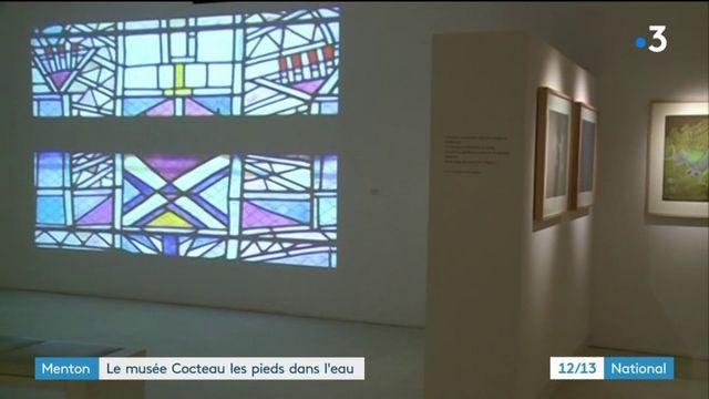 Menton : le musée Cocteau les pieds dans l'eau