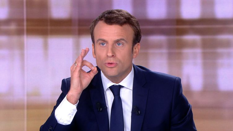 Emmanuel Macron. (AFP)