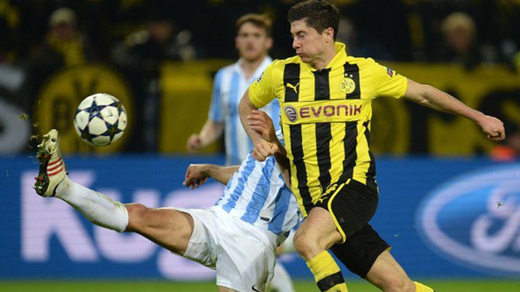 Robert Lewandowski, l'attaquant de Dortmund