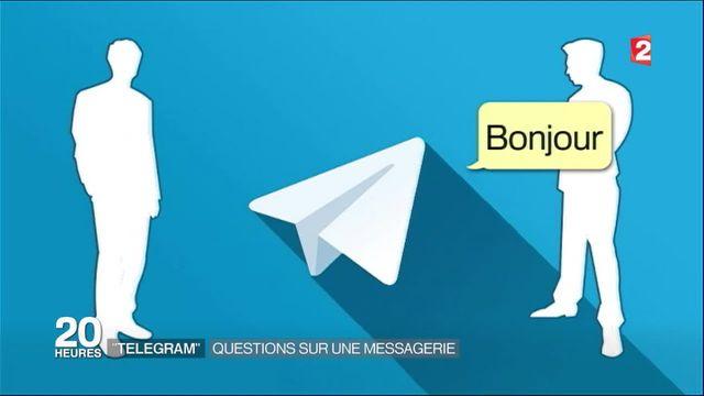 """""""Telegram"""" : questions sur un système de messagerie"""