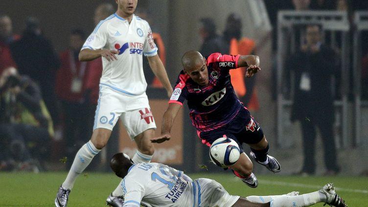 Bordeaux et Marseille terminent 2015 sur un nul 1-1 (THIBAUD MORITZ / AFP)