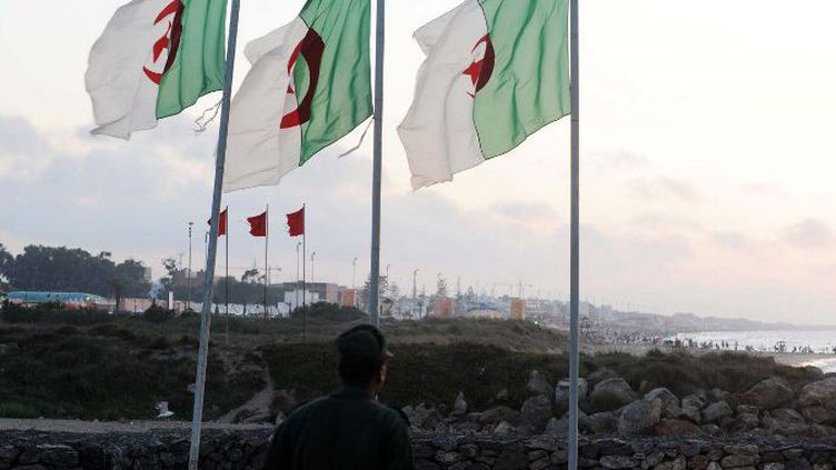A la frontière entre l'Algérie et le Maroc. (FAROUK BATICHE / AFP)