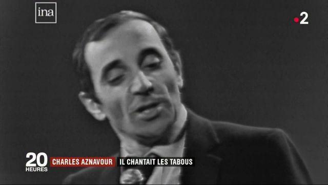 Charles Aznavour : il chantait les tabous