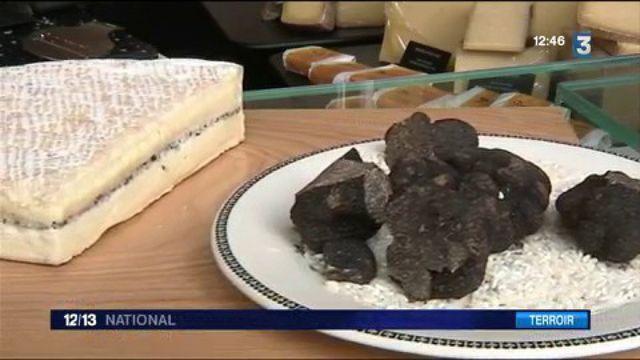 Tables de fêtes : le Brie aux truffes