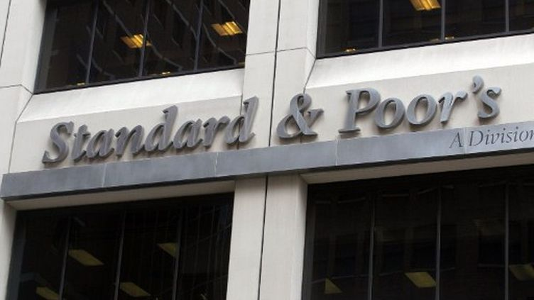 Le siège de l'angence de notation Standard & Poor's à New York. (MARIO TAMA / GETTY IMAGES NORTH AMERICA / AFP)