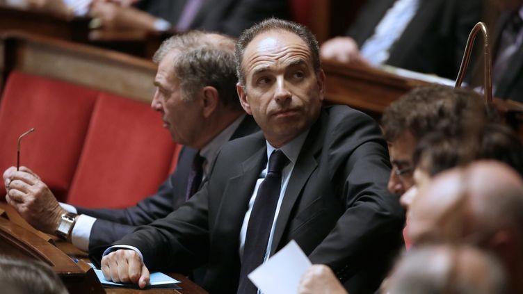 Jean-François Copé à l'Assemblée nationale (Paris) le 21 mai 2013. (KENZO TRIBOUILLARD / AFP)