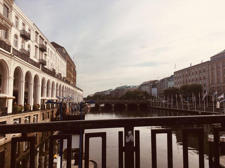 Au coeur du centre historique d'Hambourg. (INGRID POHU / RADIO FRANCE)
