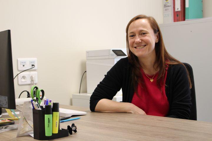 Marie-Laure Pons,médecin à La Grand-Combe, le 21 janvier 2020. (ROBIN PRUDENT / FRANCEINFO)
