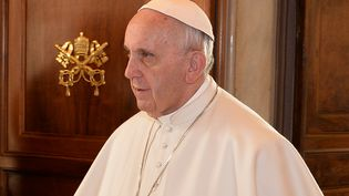 Le pape François, le 5 février 2016, au Vatican. (ALBERTO PIZZOLI / AFP)