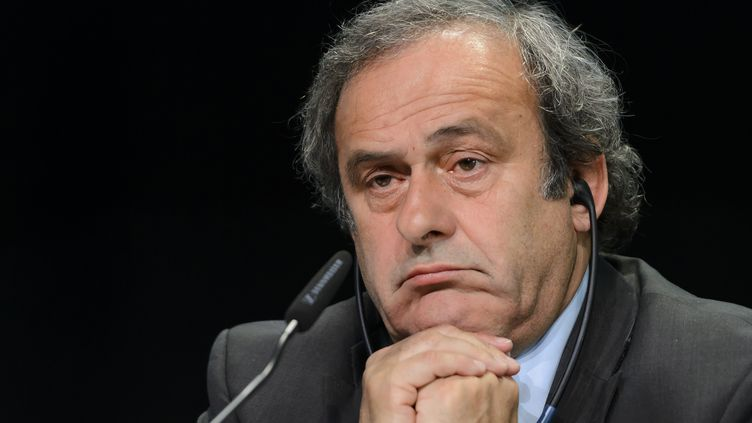 Michel Platini suspendu à la décision du TAS (FABRICE COFFRINI / AFP)