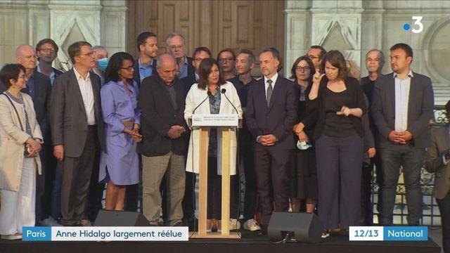 Paris : un second mandat pour Anne Hidalgo