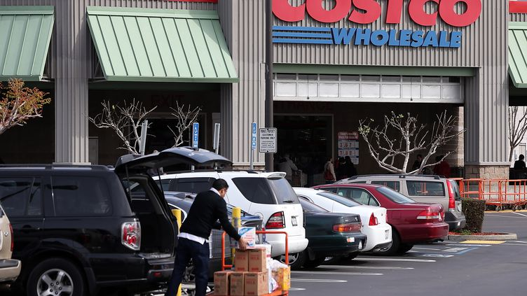 Un magasin Costco aux USA en mars 2014 (JUSTIN SULLIVAN / GETTY IMAGES NORTH AMERICA)