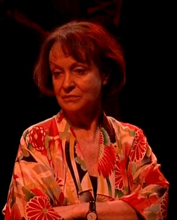 Danièle Lebrun joue la vieille dame qui revient pour éliminer son amour de jeunesse  (France3 / Culturebox)
