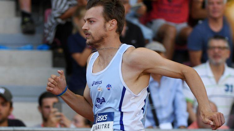 Christophe Lemaitre n'est plus invaincu aux Championnats de France sur 200m (PHILIPPE MILLEREAU / DPPI MEDIA)