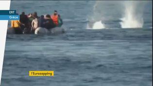 Des gardes-côtes grecs tirent sur des migrants (FRANCEINFO)
