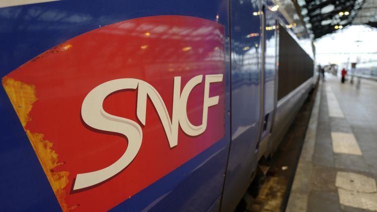Les députés ont adopté à une écrasante majorité, en prmeière lecture, mardi 17 avril, le projet de réforme de la SNCF. (LUDOVIC MARIN / AFP)