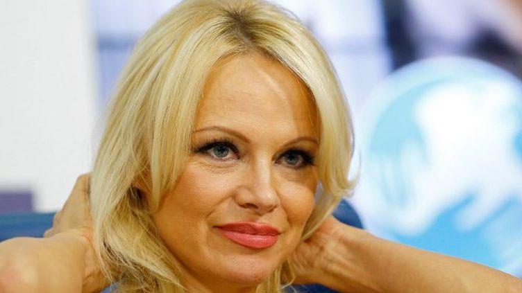 Le journal Bilad El Bilad a qualifié Pamela Anderson d'actrice «pornographique» (SEFA KARACAN / ANADOLU AGENCY)
