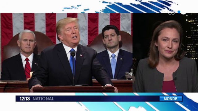 Discours sur l'état de l'Union : Trump convainc les téléspectateurs, pas les démocrates